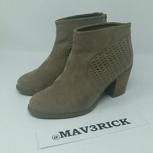 Torrid Women's Ankle Boots Brown Tan Suede Size 9